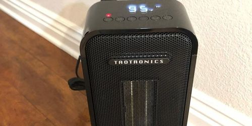 Portable Space Heater w/ Remote Only $44.99 Shipped | Hundreds of 5-Star Reviews