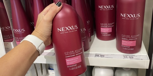 Nexxus Shampoo & Conditioner 33.8oz Bottles Only $7.82 Each After $10 Target Gift Card (Regularly $19+)