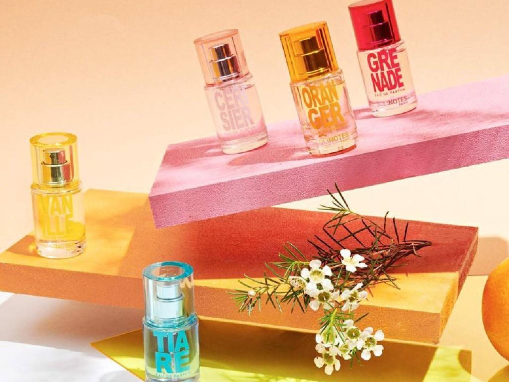 multiple Solinotes parfum bottles