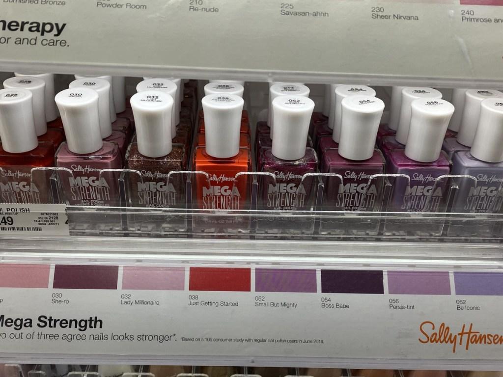 Sally Hansen Mega Strength Nail Polish at Target