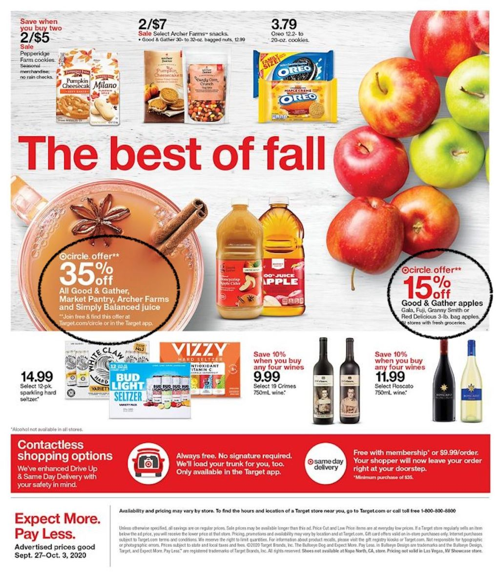 Target Ad Sept 27 Page 33