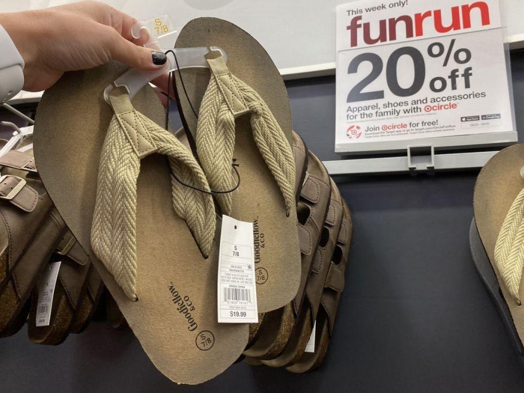 Target Mens Goodfellow Sandals