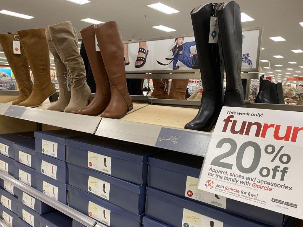 Target Womens Universal Thread Boots