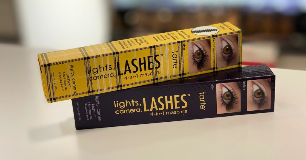 Tarte Lights Camera Lashes 4-in-1 mascaras