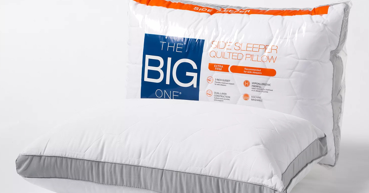 The Big One Quilted Side Sleeper Pillows