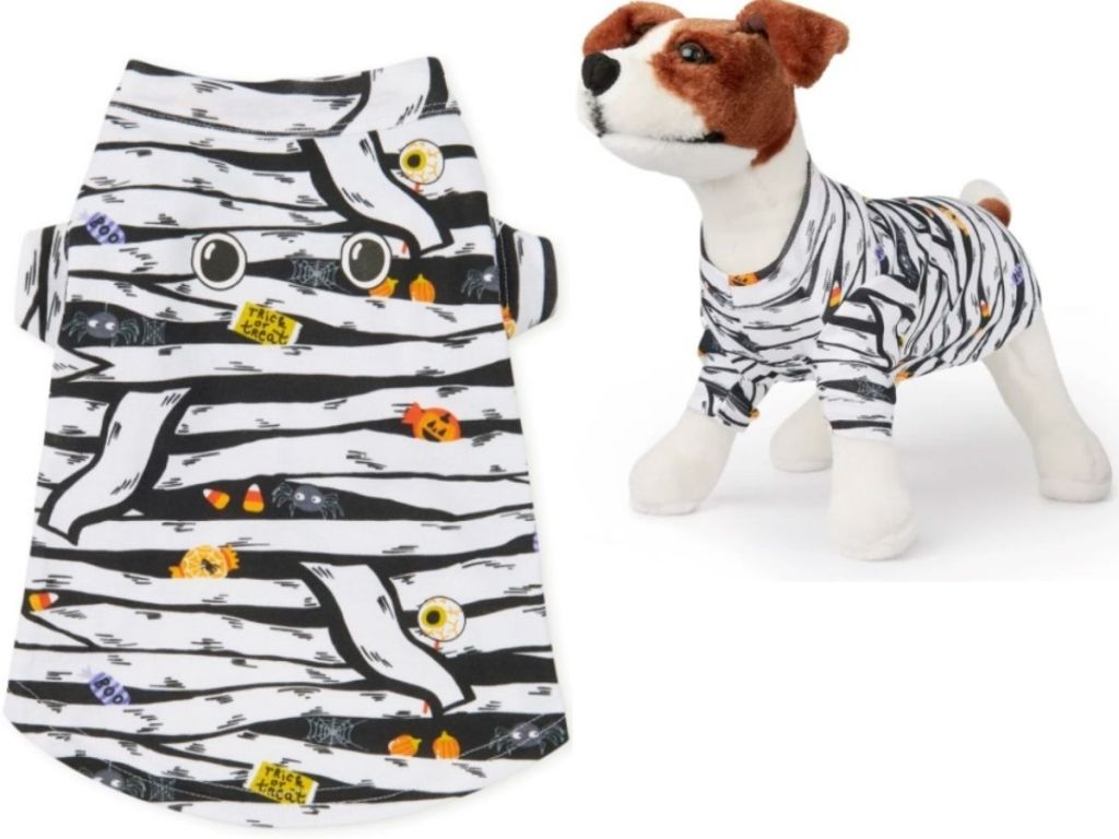 The Childrens Place Pajamas for Dogs with Mummy Print