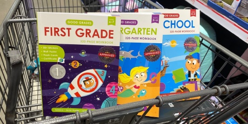 Educational 320-Page Workbooks Only $4.99 at ALDI