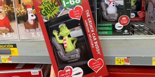 Take The Grinch for a Ride with This Fun Holiday Inflatable at Walmart