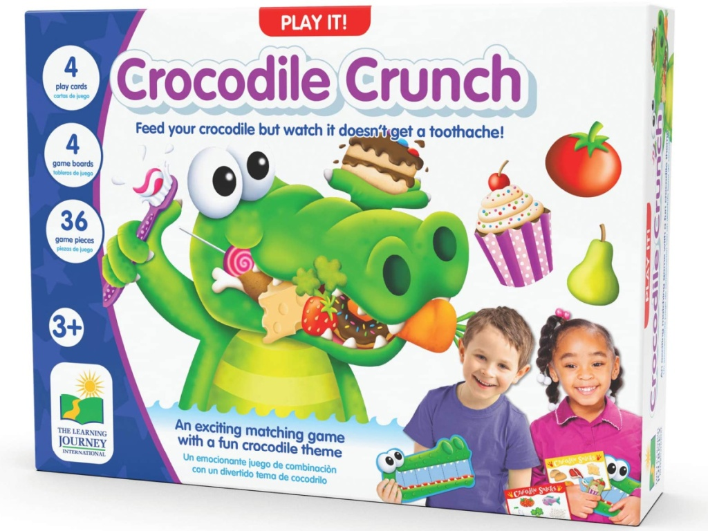 The Learning Journey Crocodile Crunch Game