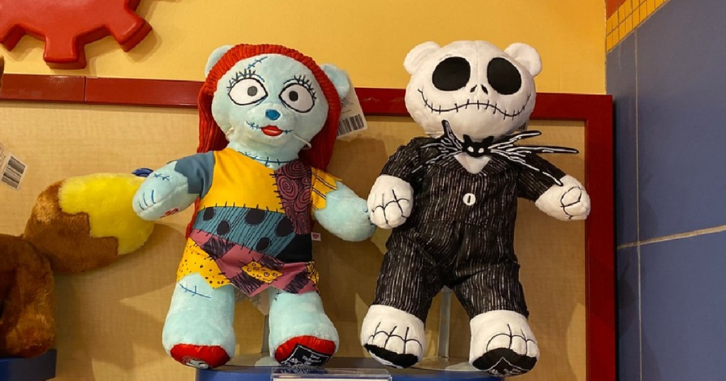 The Nightmare Before Christmas characters at Build a Bear