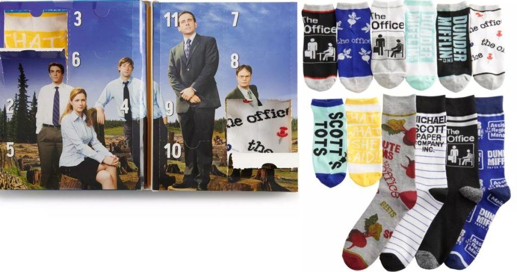 The Office Sock Advent Calendar and Socks