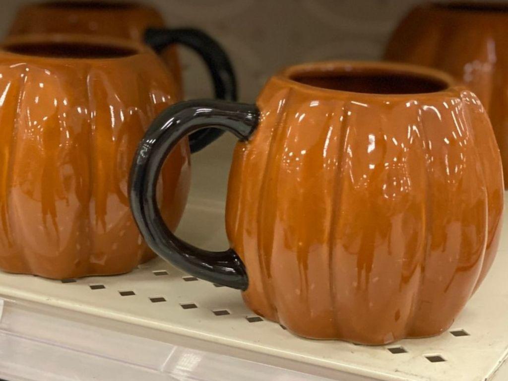 Threshold Pumpkin Shaped Coffee Mug