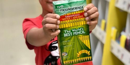 Ticonderoga Pre-Sharpened Pencils 72-Count Just $9.99 Shipped + More Supply Deals on Office Depot