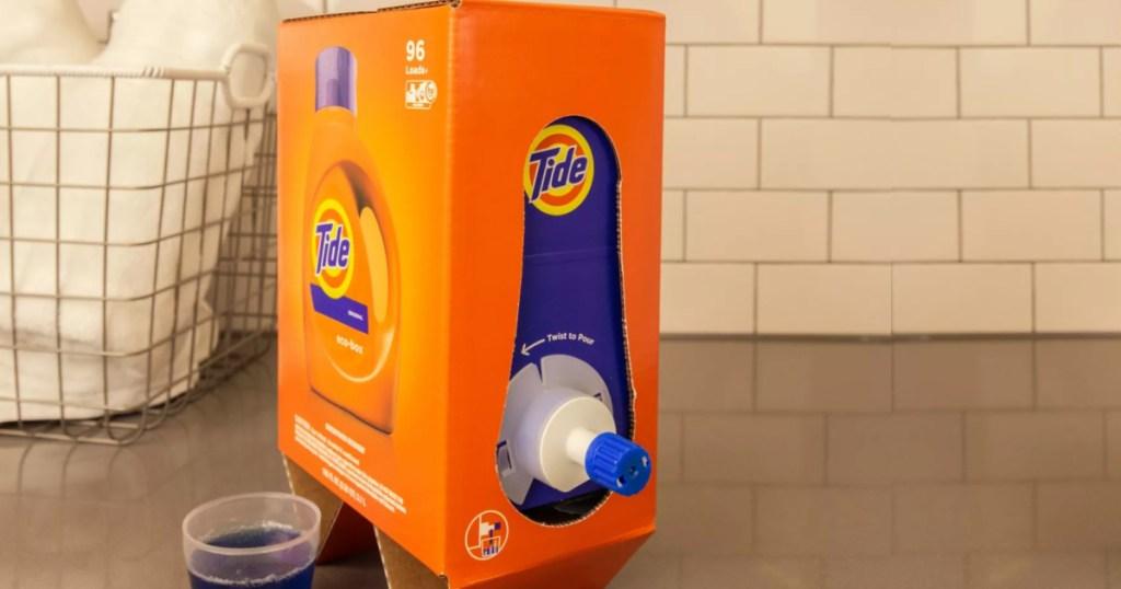 Tide HE Laundry Detergent 105oz ECO Box