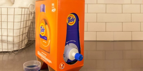 Tide Liquid Laundry Detergent HUGE 105oz Eco-Box Only $14 Shipped on Amazon