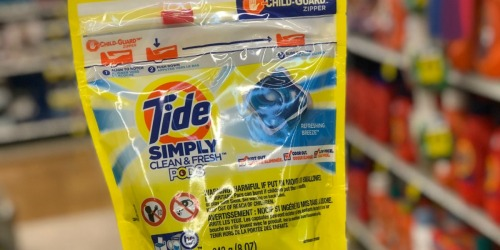 Tide Simply Laundry Detergent Only $1.59 + Free Walgreens In-Store Pickup