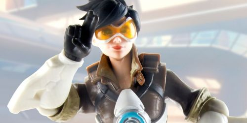 Hasbro Overwatch Ultimates Series Tracer Collectible Action Figure Only $6.85 (Regularly $20)