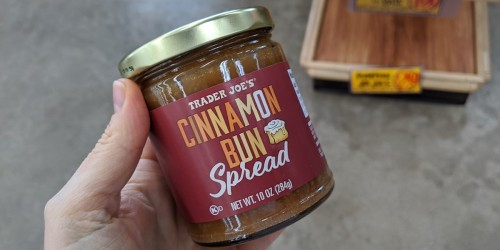 Trader Joe's Cinnamon Bun Spread is Perfect for Everything from Waffles to Ice Cream