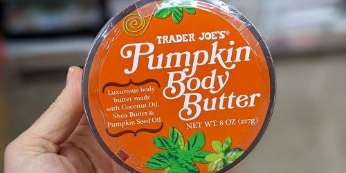 Seasonal Fall Favorites Are Back at Trader Joe's | Pumpkin Body Butter, Waffles & More