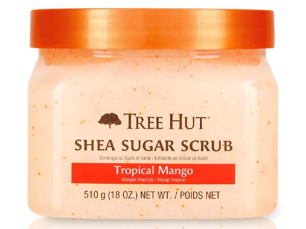Tree Hut Shea Sugar Ultra Hydrating and Exfoliating Scrub in Tropical Mango 18-Ounce