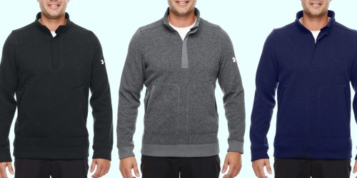 Under Armour Men's Quarter-Zip Sweater Only $39.95 Shipped (Regularly $85)