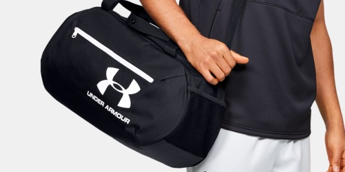 Under Armour Duffle Bags from $20.99 Shipped (Regularly $35+)