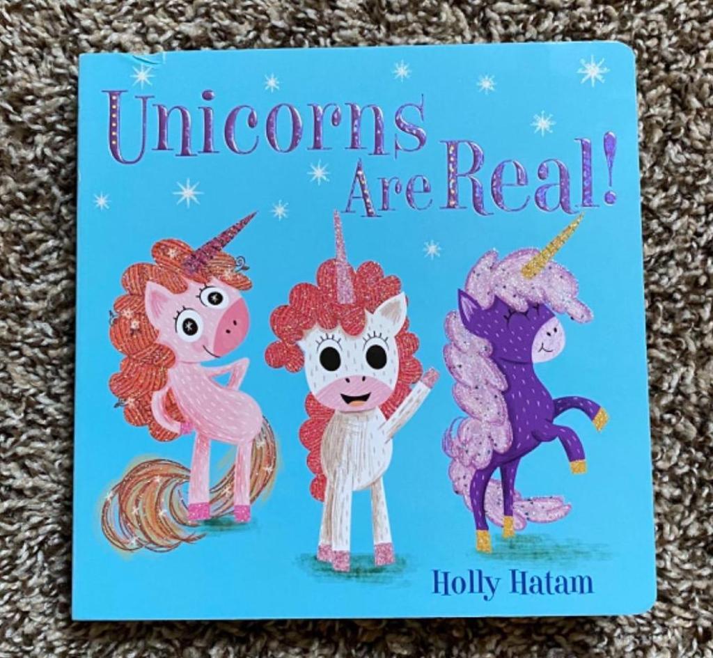 Unicorns Are Real board book