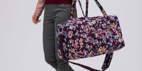 Vera Bradley Large Travel Duffel Bag Just $35 Shipped (Regularly $100!)