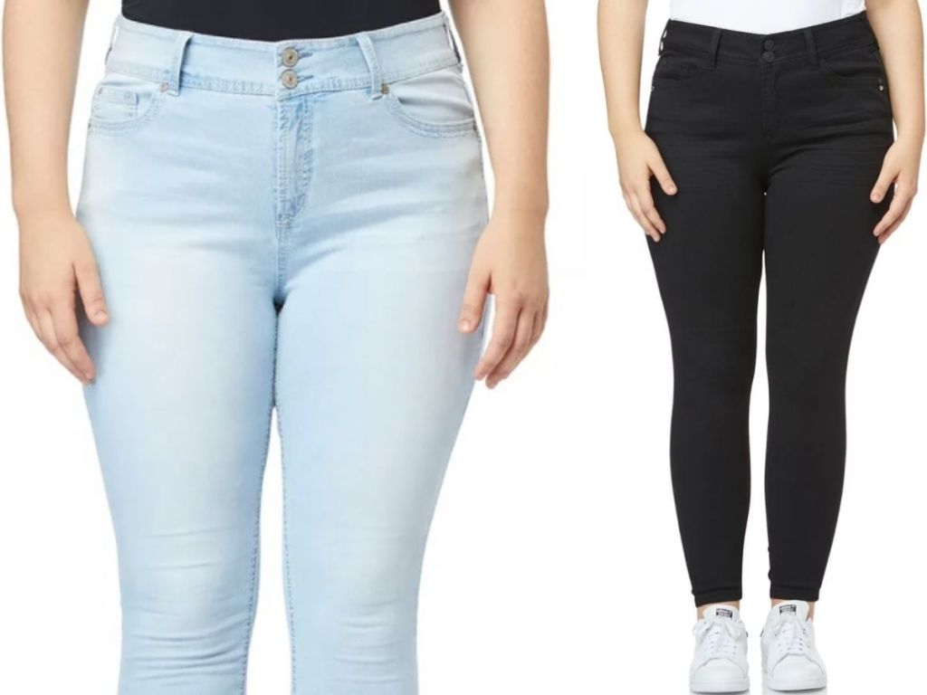 Wallflower Plus Size Junior Jeans