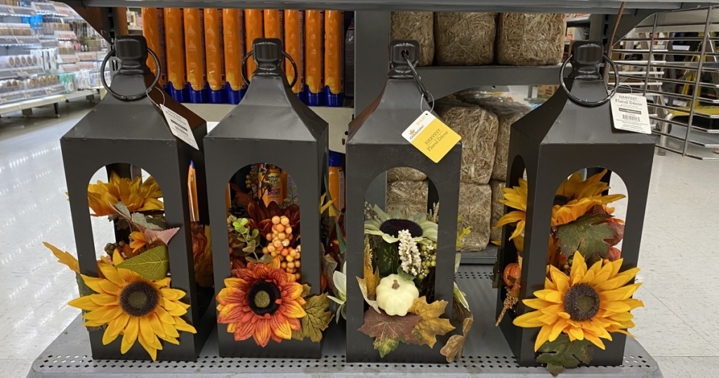 fall harvest lanterns in-store at walmart