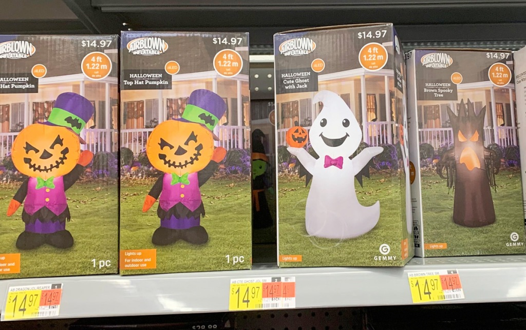 New For 2020 Halloween Inflatable Halloween Inflatables from $14.97 at Walmart | Includes Disney's