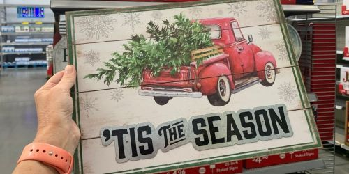Vintage Holiday Signs From Just $4.96 at Walmart