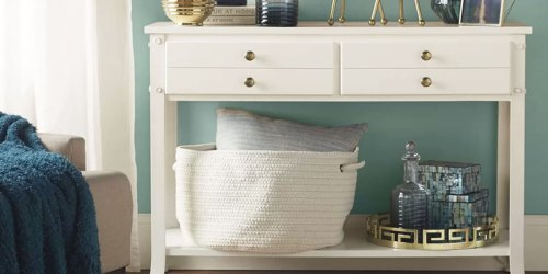 Up to 60% Off Trendy Storage Baskets + Free Shipping on Wayfair