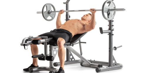 Weider Olympic Workout Bench Only $199.99 Shipped + Earn $40 Kohl's Cash