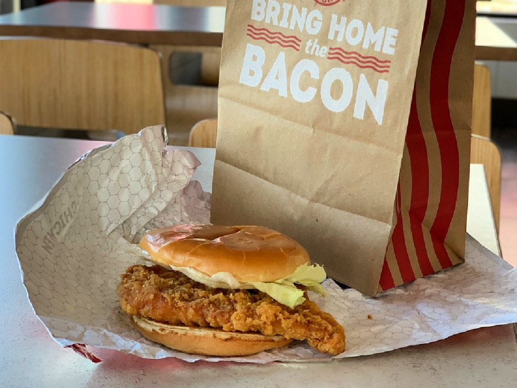 Sandwich Ayam Klasik Wendy
