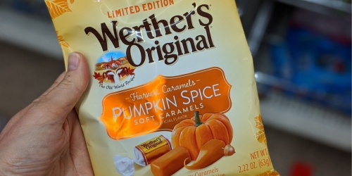Werther's Originals Limited Edition Pumpkin Spice Caramels Only $1 at Dollar Tree