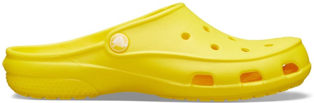yellow crocs clogs