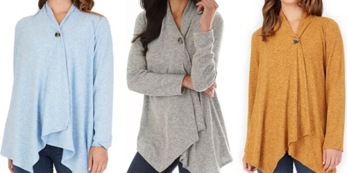 Women's Fall Cardigans from $15.74 Shipped for Kohl's Cardholders (Regularly $36+)