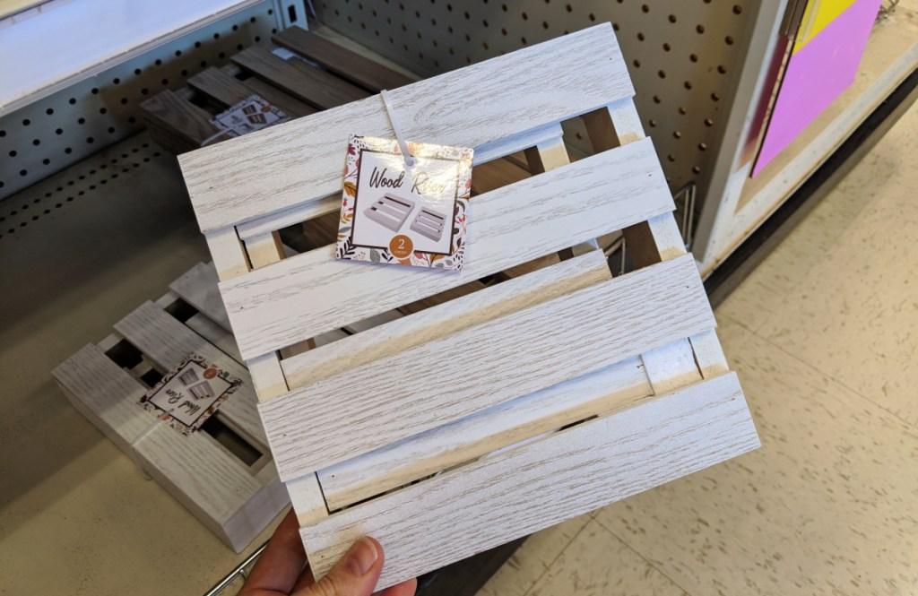 Wood Riser 2-Pack in dollar spot at Target