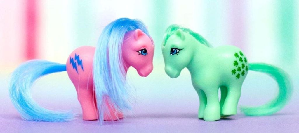 two small My Little Pony figures