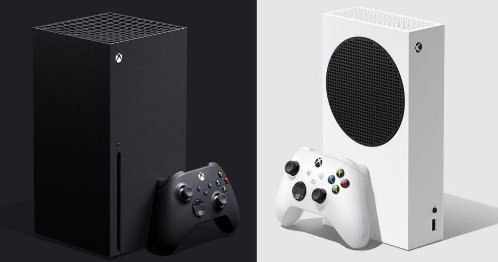 Xbox X and Xbox S consoles