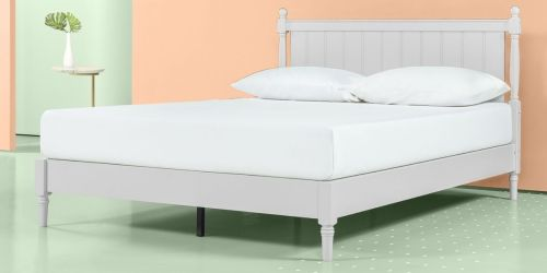 Up to $205 Off Zinus Platform Beds + Free Shipping on Walmart.com