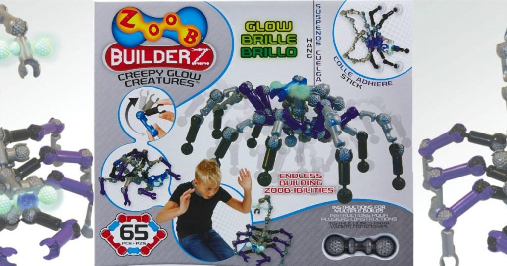 Zoob Builders Creepy Glow Creatures