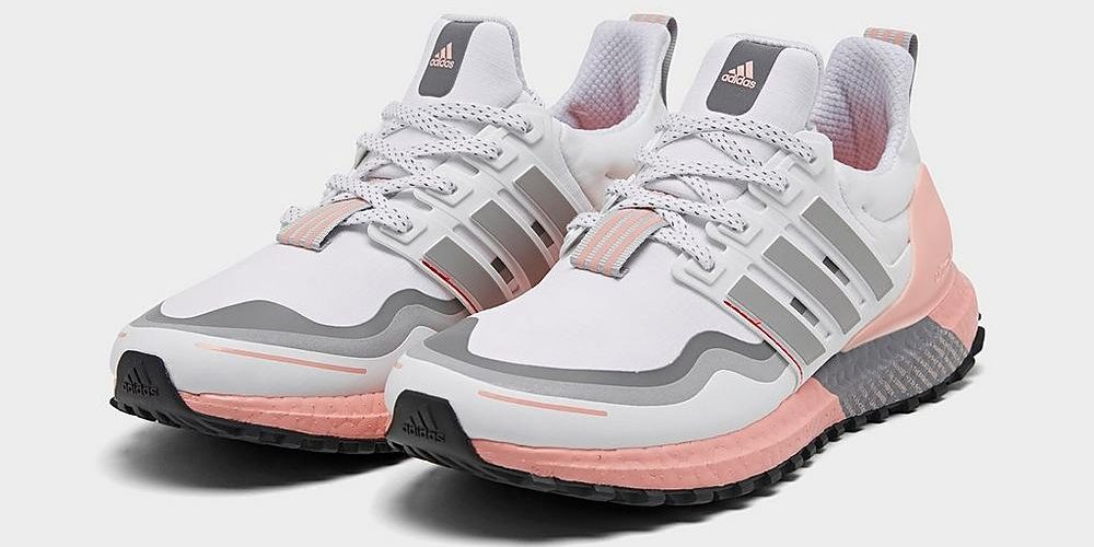 pink and grey womens adidas