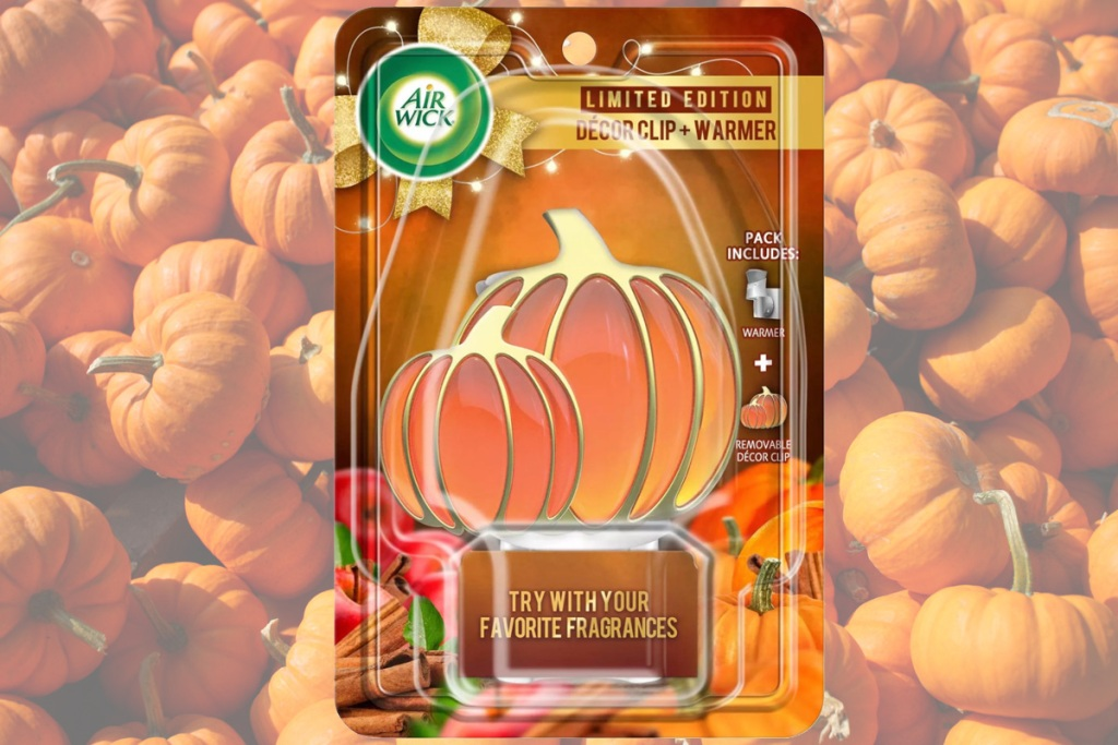 air wick pumpkin clip warmer