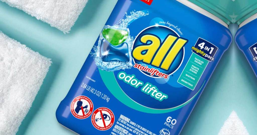 all odor lifter laundry detergent