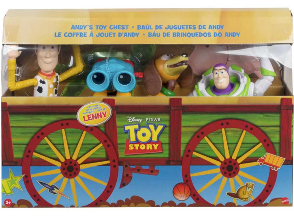 andy's toy chest filled with figures