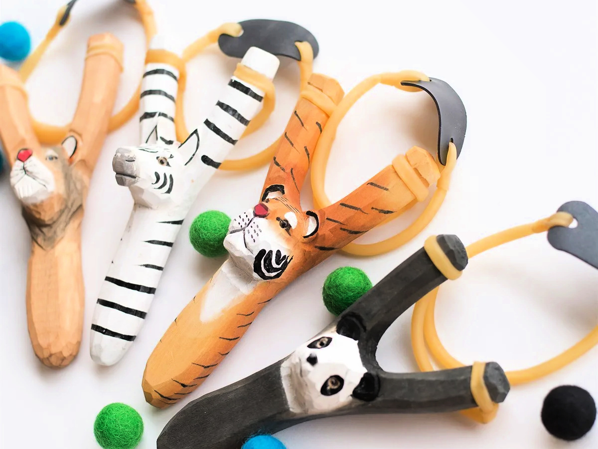 Animal Wood Slingshots