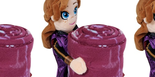 Disney Frozen Pillow Pal + Fleece Blanket Set Only $14 on Amazon