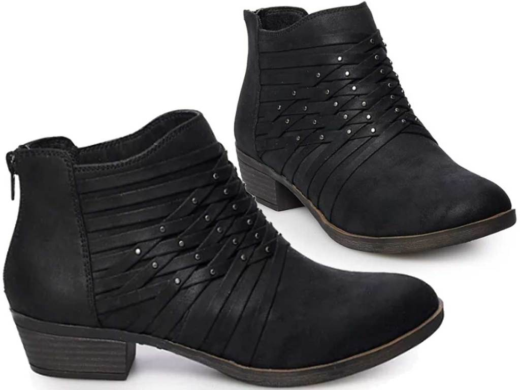 women's ankle boots stock image